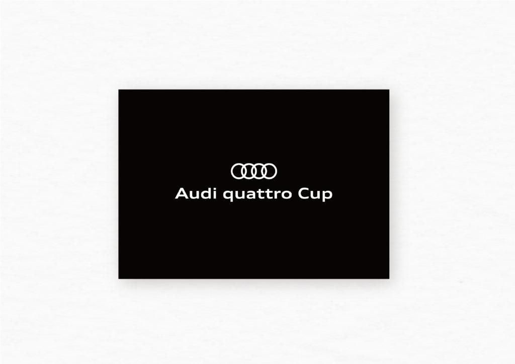 AudiquattroCup ブランディングビジュアル