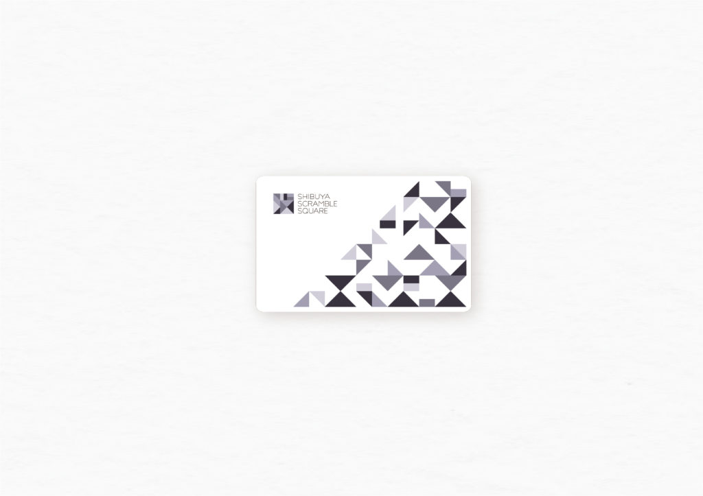 渋谷スクランブルスクエア フォーマルツール カード