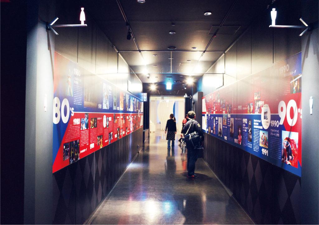 サンシャイン展望台 ウルトラ×Vリーグ 50年記念展 現場写真